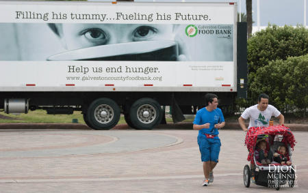 The work of Galveston County Food Bank.