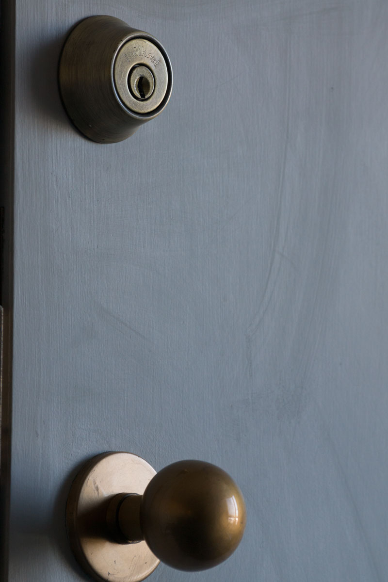 July 23, 2015:  So often we focus on what may be locking us out instead of that which will let us in.  Still...life.