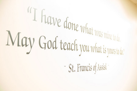 May 15, 2015: Smart guy, that Francis.  Once we find what is our own to do, we must commit to it with every fiber of our being.  Still...life.