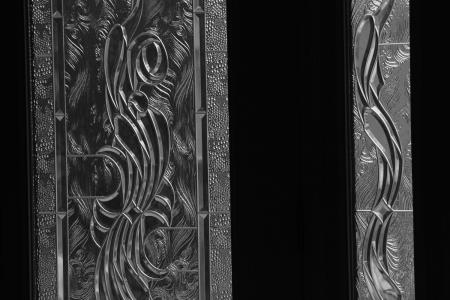 January 3  The front door and side panel remind me that beauty is made by people and machines with the goal of adding to the world's beauty, but we often ignore it. Pause long enough to notice the many ways beauty is added to your world by the work of others.