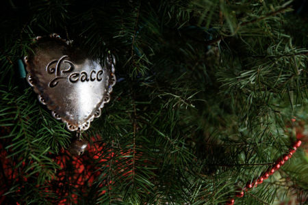 December 25  Christmas Day. If we only followed the lessons of the baby born this day, there would be...peace.